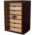 "GERMANUS ""Veter"" Cigar Humidor Cabinet with Digital Hygrometer for ca 500 cigars"