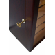 GERMANUS Cigar Humidor with digital hygrometer and humidifier for 500 cigars Veter