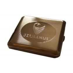 Cigarette Case - Made in Germany -  Nickel GERMANUS