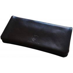 GERMANUS Tobacco Pouch -  Leather - Black