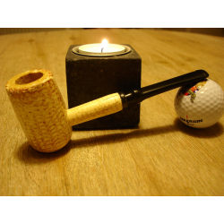 Original Missouri Quality Corncob Pipe - Apple, Straight 2
