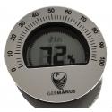GERMANUS Adjustable Digital Humidor Hygrometer - Round Germanus