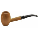 Original Missouri Qualitäts Corncob Holz Pfeife - Shape: Egg, Bent