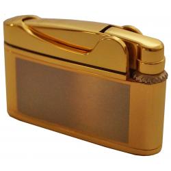 Qualitäts Feuerzeug Flosse für Pfeifen in 60er design - in Chrom oder Gold