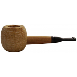 Original Missouri Qualitäts Corncob Pfeife - Shape: Short Apple, Billiard, filterlos