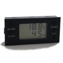 GERMANUS Digital Humidor Hygrometer - Eckig II