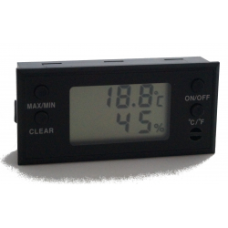 GERMANUS Digital Humidor Hygrometer - Rect. II