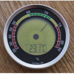 Cigar Oasis Caliber 4R Digital Humidor Hygrometer