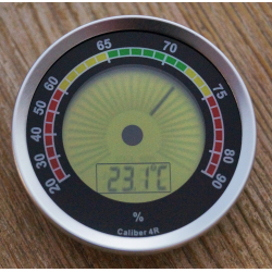Cigar Oasis Caliber 4R Digitaler Humidor Hygrometer