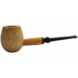 Original Missouri Quality Corncob Pipe - Apple, Straight