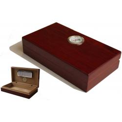 Humidor - Reisehumidor Mini hochglanz Braun
