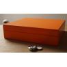 Oranger Humidor für Zigarren - Einsteiger Humidor