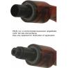 Filter Adapter zur Reduktion von 9 mm auf 3 mm für Pfeifen