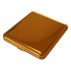 Zigaretten Etui - Echt Gold - Made in Germany - Design Glatt