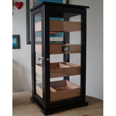 germanus vemis humidor schrank f r ca 400 zigarren tabak pietsch. Black Bedroom Furniture Sets. Home Design Ideas