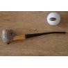 Original Missouri Quality Corncob Pipe - Shape: Cobbit Shire, Bent