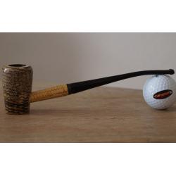 Original Missouri Quality Corncob Pipe - Shape: Cobbit Elf, Bent