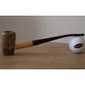 Original Missouri Qualitäts Corncob Pfeife - Shape: Cobbit Elf, Bent