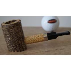 Original Missouri Quality Corncob Pipe - Shape: Dagner Poker Cob