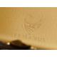 Zweite Wahl: GERMANUS Zigarettenetui Metall Korpus mit Leder Bezug - Made in Germany  - Design Schwarzes Rind