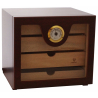 Exhibition Object - GERMANUS Cigar Humidor Cabinet - Durius in Brown