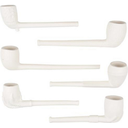 Clay Pipe 11 cm, Handmade in Germany