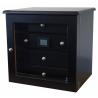 GERMANUS ® Cigar Humidor Cabinet with GERMANUS Humidifier for ca 200 cigars