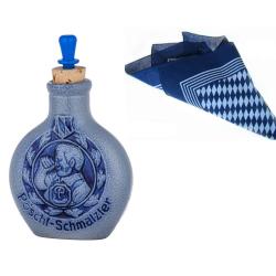 Pöschl Schnupftabak Flasche Keramik