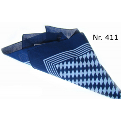 Snuff Hankerchief , Blau , 1