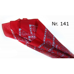 Poeschl Snuff Hankerchief , Red, 1