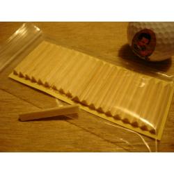 Corncob Filter – Italienische Savinelli Pfeifenfilter - 6 mm |20 Filter