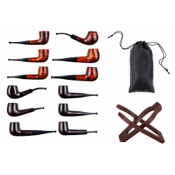 Pipe Starter Set with Pipe Sac and Pipe Holder