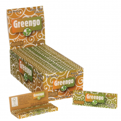 50x Greengo Extra thin Classic Cigarette Papers