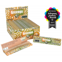 50x Greengo King Size Slim Zigaretten Papier