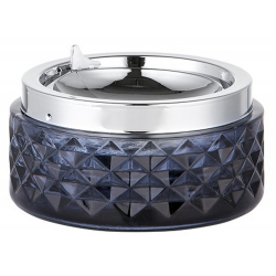 Ashtray with Foldable Tray in Art Déco Style