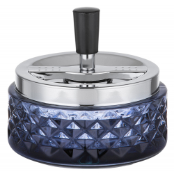 Ashtray with Rotatable Tray in Art Déco Style