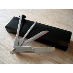 Pfeifenbesteck Tscheche Pfeifen Stoper Pfeifenstopfer Pipe Tool Pipetool - mit Schlüsselanhänger
