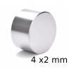 Neodym Magnet 4 x2 mm