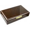 Einzelstück: GERMANUS Licca Zigarren Humidor mit Digital Hygrometer und Metall Befeuchter für ca. 100 Zigarren