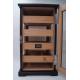 Humidor Schrank '22 für ca. 200 Zigarren mit Digitalhygrometer