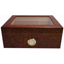 GERMANUS Zigarren Humidor Desk 1 für ca. 50 Zigarren