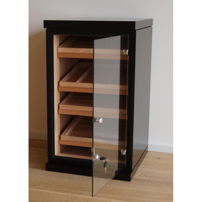 ... GERMANUS Cigar Humidor Cabinet With GERMANUS Humidifier And Digital  Hygrometer For Ca 1200 Cigars II ...