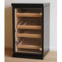 GERMANUS Cigar Humidor Cabinet with GERMANUS Humidifier and Digital Hygrometer for ca 1200 cigars II