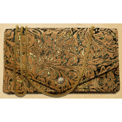 Kavatza Tobacco Clutch Atlantia