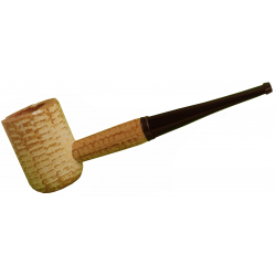Original Missouri Quality Corncob Pipe - Classic, Straight 2