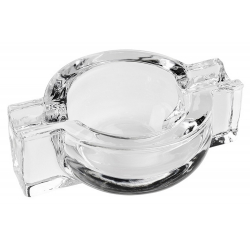 Solid Crystal CigarAshtray - made from sturdy glass
