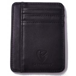 GERMANUS Furvus Kreditkartenetui - Made in EU - Leder Etui für Kreditkarten und Visitenkarten