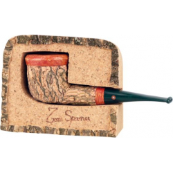 Tom Spanu Briar Pipe with Cork Lining, Straight