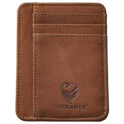 GERMANUS Albrunus Credit Card Case - Made in EU - Leder Case for Cards