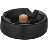 Pipe Ashtray - black, matte 1